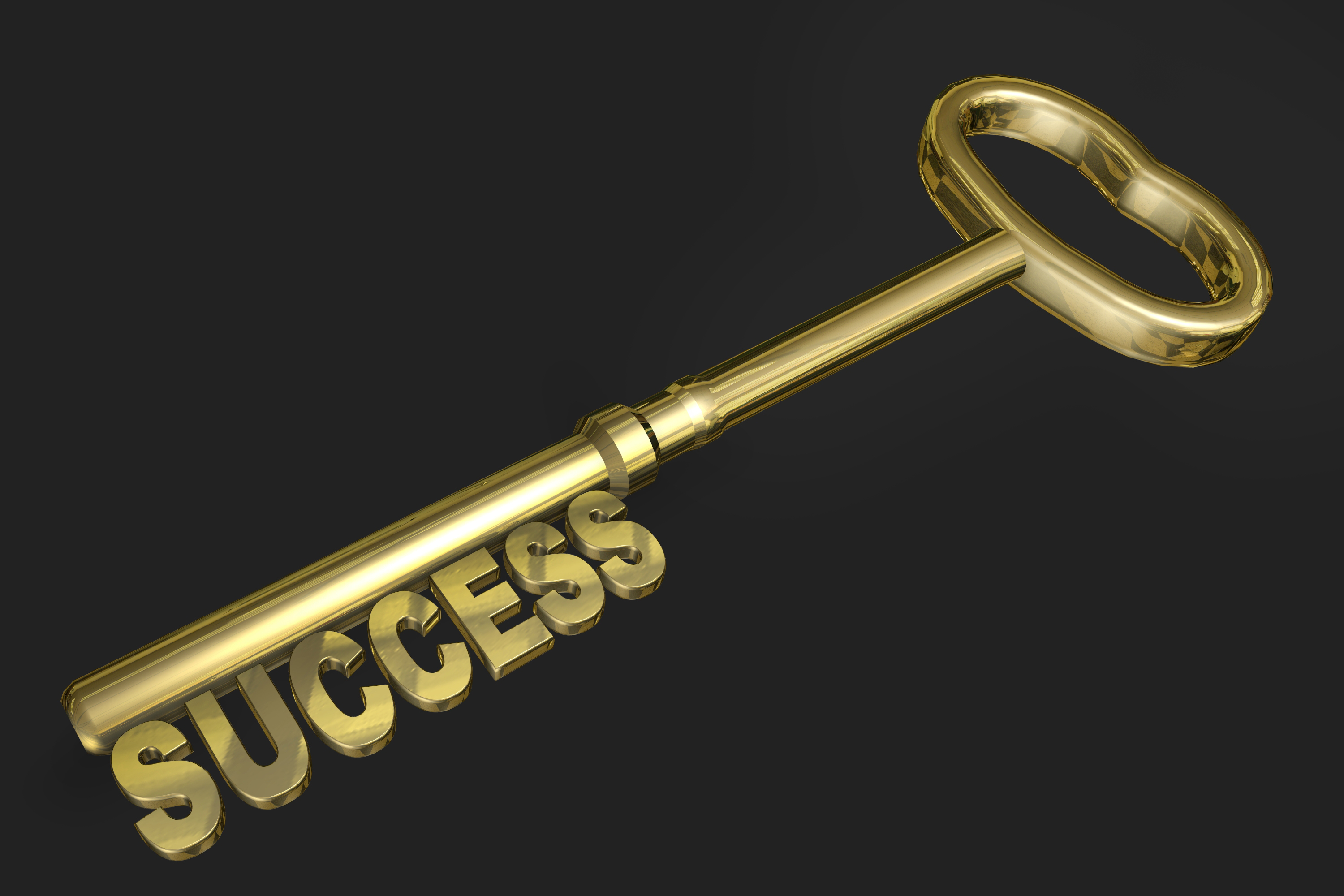 Success Golden Key - Public Domain image courtesy Animated Heaven on Flickr