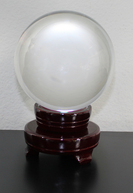 crystal ball by Jeffrey Beall