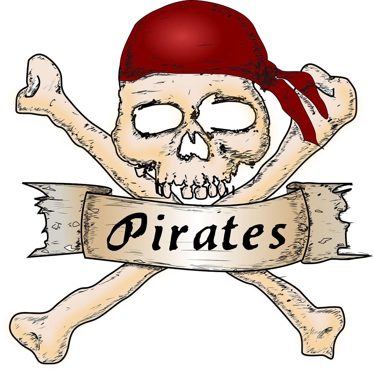 Playing a pirate can be fun. Being a pirate is stealing.