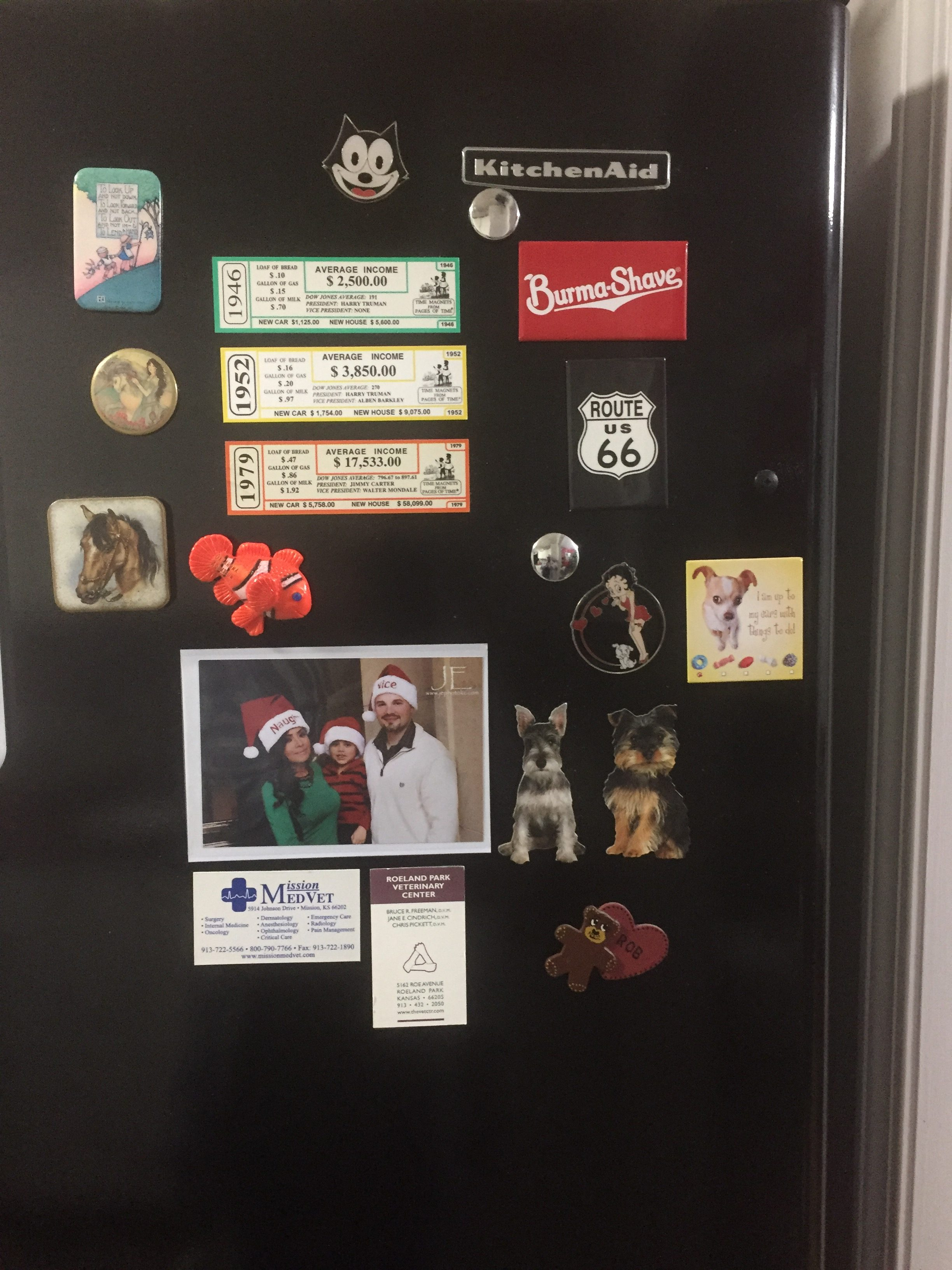20 weird things I'm grateful for-refrigerator magnets